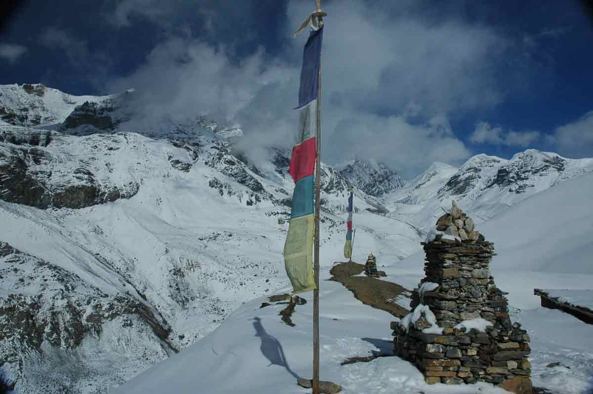 DAMODAR KUND & ASCENSION  SARIBUNG (6 346M)