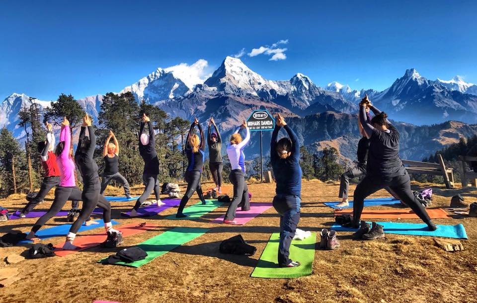 TREK & YOGA AT ANNAPURNA REGION